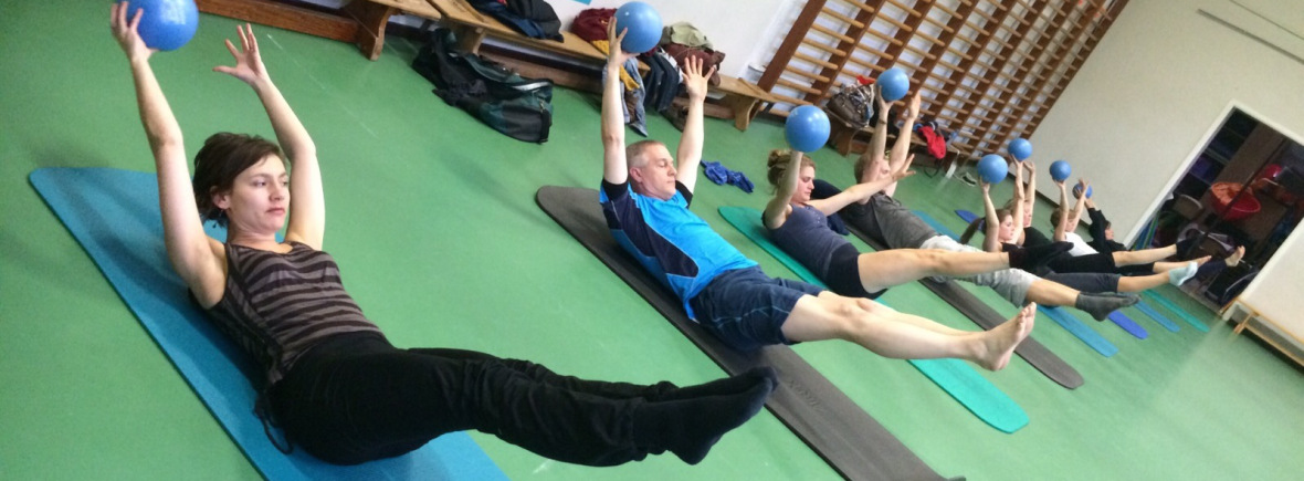 Pilates op de Mat, Pilates groepsles
