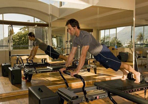 Long Stretch on Reformer (Plank)