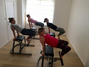 Pilates MVe Chair: the table