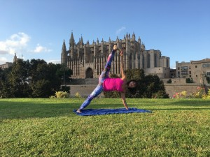 Yoga pose: side plank - vashistasana