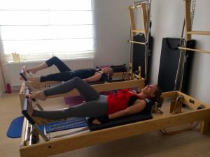 Pilates op Reformer: the running
