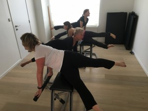 Pilates MVe Chair: the scissors